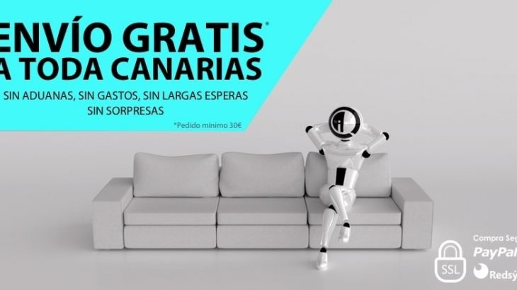 Envío gratis toda Canarias